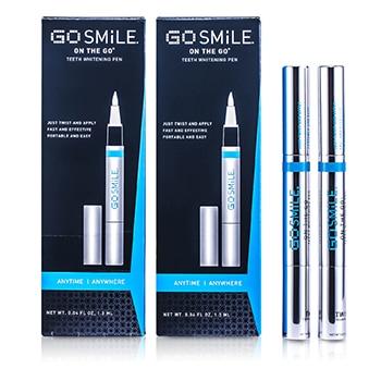 Gosmile On The Go Teeth Whitening Pen Duo 2x1 3ml 0 04oz