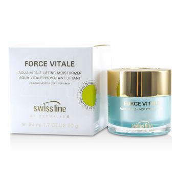 Swissline - Force Vitale Aqua-Vitale De-Puffing Eye Gel - 15ml/0.5oz Skin Brightening 2% HQ BHA Serum 3oz