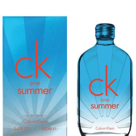 CALVIN KLEIN CK ONE SUMMER 2017 EDT FOR UNISEX