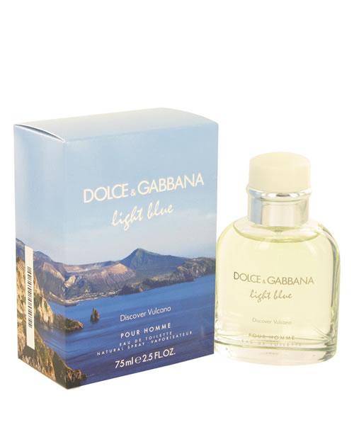 D G DOLCE   GABBANA LIGHT BLUE DISCOVER VULCANO POUR HOMME EDT FOR ... 75f73d5513