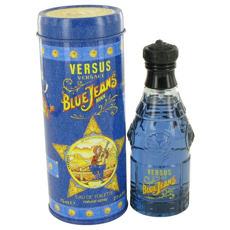 For Jeans Versace Blue Edt Men Y6byg7Ifv