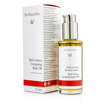 DR. HAUSCHKA BIRCH-ARNICA ENERGISING BODY OIL - REVITALISES & WARMS 75ML/2.5OZ