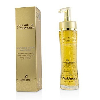3W CLINIC COLLAGEN & LUXURY GOLD REVITALIZING COMFORT GOLD ESSENCE 150ML/5.07OZ