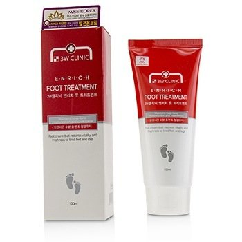 3W CLINIC ENRICH FOOT TREATMENT 100ML/3.3OZ