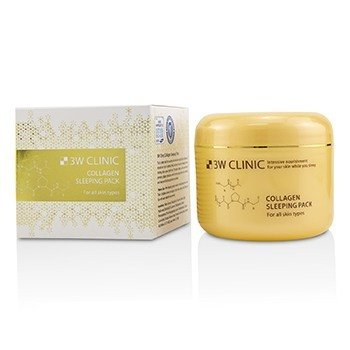 3W CLINIC COLLAGEN SLEEPING PACK 100ML/3.3OZ