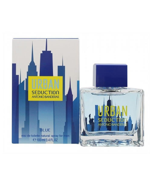 a655012ec ANTONIO BANDERAS URBAN SEDUCTION BLUE EDT FOR MEN PerfumeStore ...