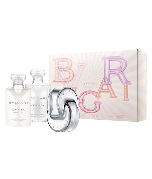 Bvlgari Omnia Crystalline 3 Pcs Gift Set 2 For Women Perfumestore
