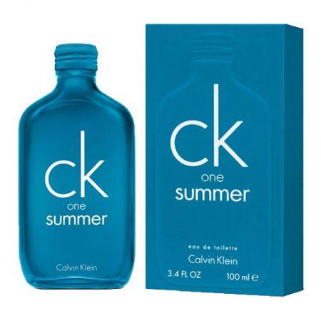 CALVIN KLEIN CK ONE SUMMER 2018 EDT FOR UNISEX