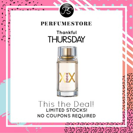 HUGO BOSS XX EDT FOR WOMEN 100ML [THANKFUL THURSDAY SPECIAL]