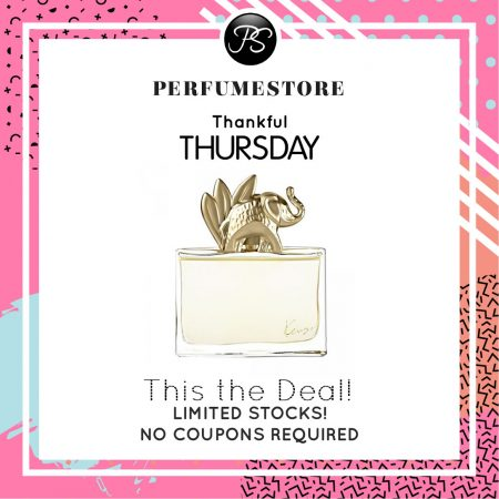 KENZO JUNGLE ELEPHANT EDP FOR WOMEN 100ML [THANKFUL THURSDAY SPECIAL]
