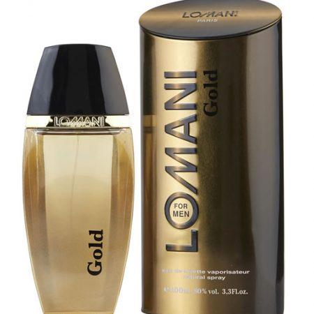 LOMANI GOLD EDT FOR MEN