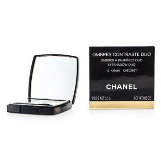 CHANEL OMBRES CONTRASTE DUO - # 17 KHAKI/ DISCRET 2.5G/0.09OZ