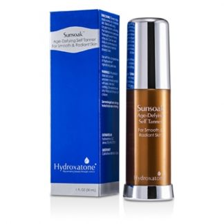 HYDROXATONE SUNSOAK AGE-DEFYING SELF TANNER (FOR SMOOTH & RADIANT SKIN) 30ML/1OZ