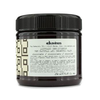 DAVINES ALCHEMIC CONDITIONER CHOCOLATE (FOR NATURAL & DARK BROWN TO BLACK HAIR) 250ML/8.45OZ