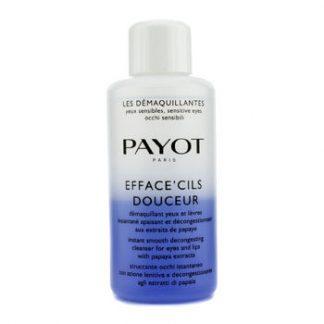 PAYOT LES DEMAQUILLANTES EFFACE CILS DOUCEUR INSTANT SMOOTH DECONGESTING CLEANSER FOR EYES & LIPS (SALON SIZE) 200ML/6.7OZ