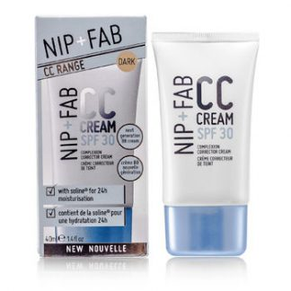 NIP+FAB CC CREAM SPF 30 - # DARK 40ML/1.4OZ