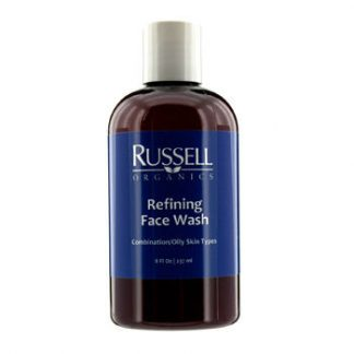 RUSSELL ORGANICS REFINING FACE WASH (FOR COMBINATION / OILY SKIN) 237ML/8OZ