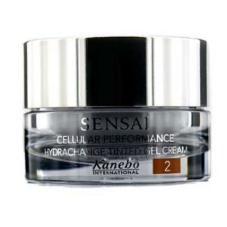 KANEBO SENSAI CELLULAR PERFORMANCE HYDRACHANGE TINTED GEL CREAM SPF 10 - # 2 GOLDEN SAND 40ML/1.4OZ