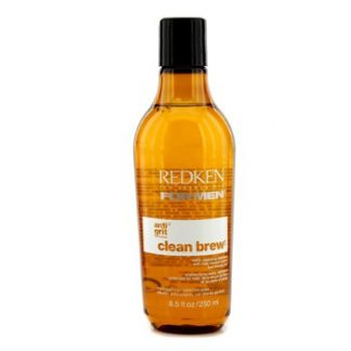 REDKEN MEN CLEAN BREW EXTRA CLEANSING SHAMPOO (EXTRA CLEAN HAIR, BALANCED SCALP) 250ML/8.5OZ