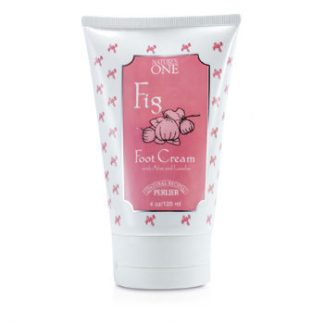 PERLIER NATURES ONE FIG FOOT CREAM 125ML/4OZ