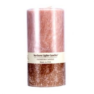 NORTHERN LIGHTS CANDLES PREMIUM CANDLE - SANDALWOOD SPICE (3X6) INCH