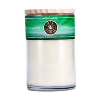 TERRA ESSENTIAL SCENTS MASSAGE & INTENTION CANDLE - ENLIGHTENMENT 12OZ