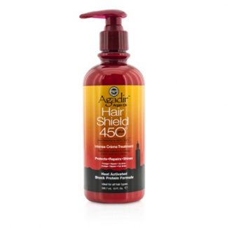 AGADIR ARGAN OIL HAIR SHIELD 450 PLUS INTENSE CREME TREATMENT (FOR ALL HAIR TYPES) 295.7ML/10OZ