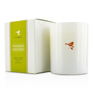 THYMES POURED CANDLE - MANDARIN CORIANDER 255G/9OZ