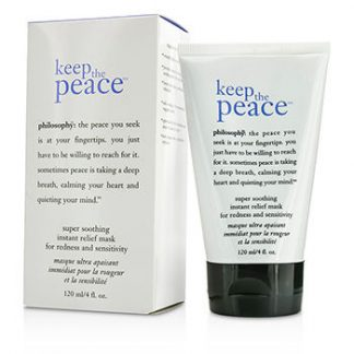 PHILOSOPHY KEEP THE PEACE SUPER SOOTHING INSTANT RELIEF MASK 120ML/4OZ