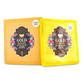 KOELF HYDRO GEL MASK PACK - GOLD (ROYAL JELLY) 5X30G/0.1OZ