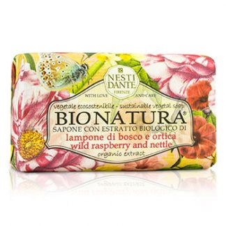 NESTI DANTE BIO NATURA SUSTAINABLE VEGETAL SOAP - WILD RASPBERRY & NETTLE 250G/8.8OZ