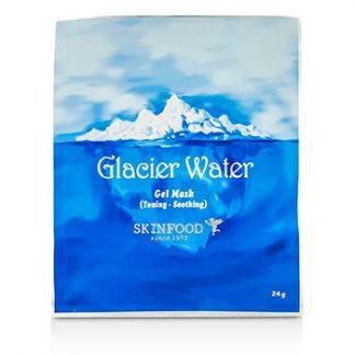 SKINFOOD GLACIER WATER GEL MASK (TONING & SOOTHING) 10X24G/0.84OZ