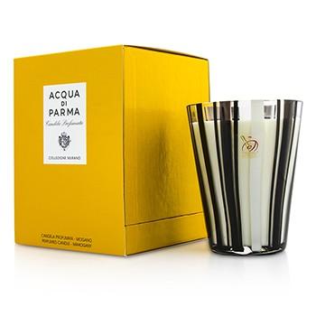 ACQUA DI PARMA MURANO GLASS PERFUMED CANDLE - MOGANO (MAHOGANY) 200G/7.05OZ