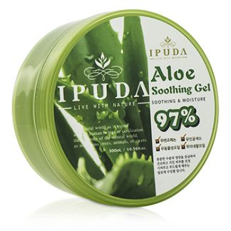 IPUDA 97PERCENT ALOE SOOTHING GEL 300ML/10.56OZ