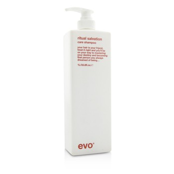 EVO RITUAL SALVATION CARE SHAMPOO (FOR COLOUR-TREATED, WEAK, BRITTLE HAIR) 1000ML/33.8OZ