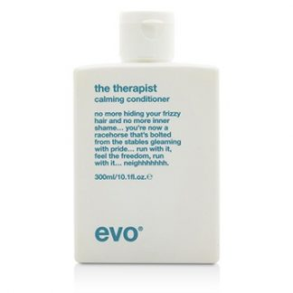 EVO THE THERAPIST CALMING CONDITIONER (FOR DRY, FRIZZY, COLOUR-TREATED HAIR) 300ML/10.1OZ