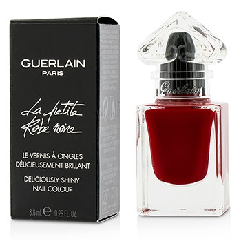 GUERLAIN LA PETITE ROBE NOIRE DELICIOUSLY SHINY NAIL COLOUR - #022 RED BOW TIE 8.8ML/0.29OZ