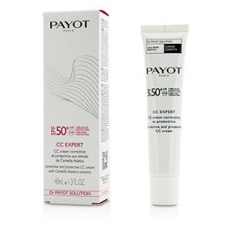 PAYOT CC EXPERT CORRECTIVE AND PROTECTIVE CC CREAM SPF 50+ UVA/UVB 40ML/1.3OZ
