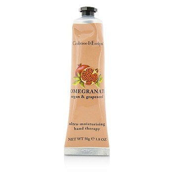 CRABTREE & EVELYN POMEGRANATE, ARGAN & GRAPESEED ULTRA-MOISTURISING HAND THERAPY (UNBOXED) 50G/1.8OZ