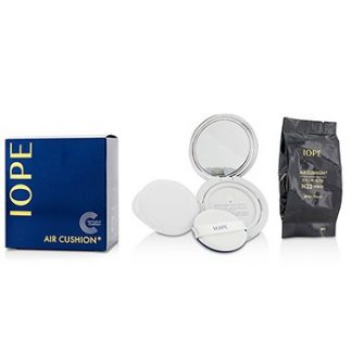 IOPE MOISTURE LASTING AIR CUSHION SPF50 WITH EXTRA REFILL - #N23 (NATURAL SAND) 2X15G/0.525OZ