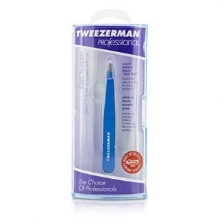 TWEEZERMAN PROFESSIONAL SLANT TWEEZER - BAHAMA BLUE -