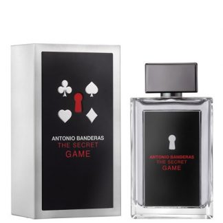 ANTONIO BANDERAS THE SECRET GAME EDT FOR MEN