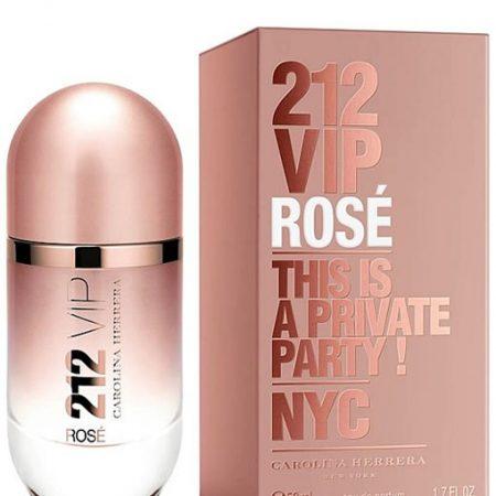 CAROLINA HERRERA 212 VIP ROSE EDP FOR WOMEN