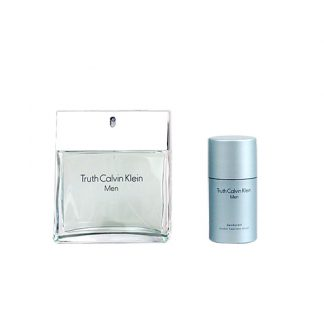 CALVIN KLEIN TRUTH EDT 100ML + AFTERSHAVE 100ML FOR MEN