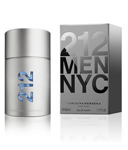 CAROLINA HERRERA 212 EDT FOR MEN