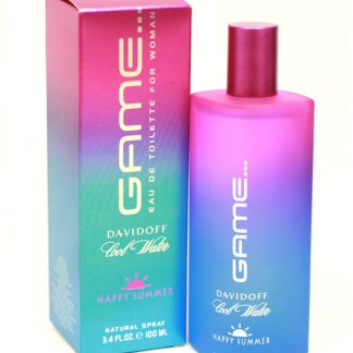 DAVIDOFF COOL WATER GAME HAPPY SUMMER EDT FOR WOMEN