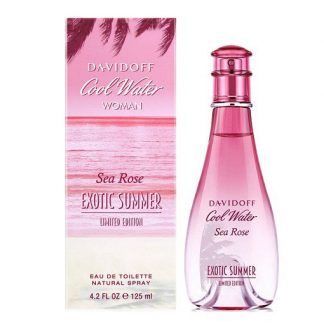 DAVIDOFF COOL WATER SEA ROSE EXOTIC SUMMER LIMITED EDITION EDT FOR WOMEN