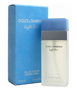 DOLCE & GABBANA D&G LIGHT BLUE EDT FOR WOMEN