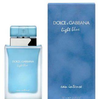 DOLCE & GABBANA D&G LIGHT BLUE EAU INTENSE EDP FOR WOMEN