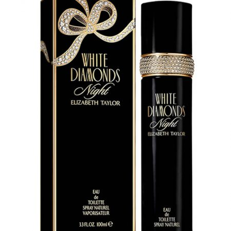 ELIZABETH TAYLOR WHITE DIAMONDS NIGHT EDT FOR WOMEN